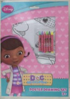Doc Mcstuffins colouring crayon set (Code 2597)